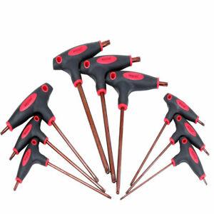 T-Handle-Grip-Torx-e-Cacciavite-a-Allen-Chiave-Esagonale-a-Brugola-T10-T50