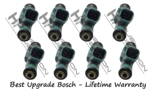 Rebuilt Genuine Bosch 4 Hole Upgrade Fuel Injector Set Ford Mercury Plug /& Play