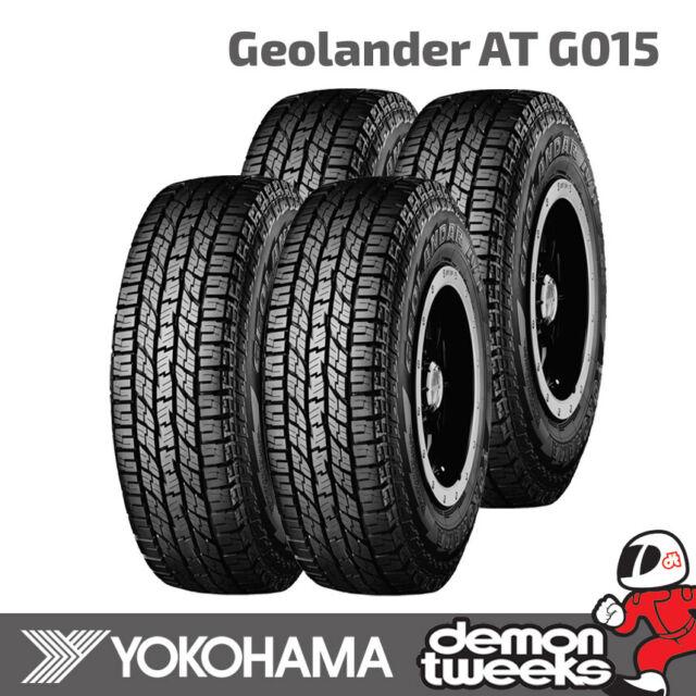 4 x Yokohama Geolander A/T G015 Tyres 205/70/R15 96H 2057015