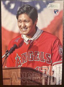 Shohei Ohtani 2018 Stadium Club Base Rookie RC #138 Los Angeles Angels ⭐️🔥