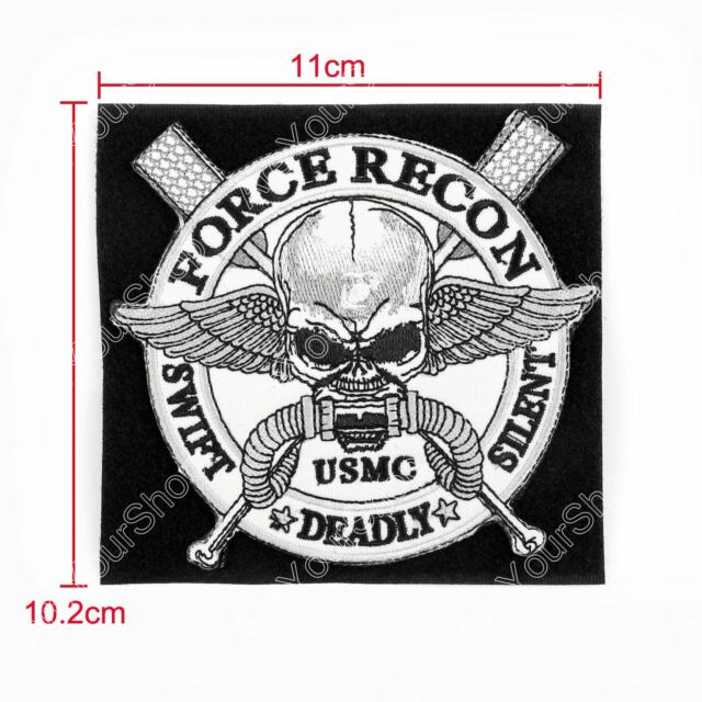 Force Recon Usmc United States Marine Corps Badge Embroidered Patch