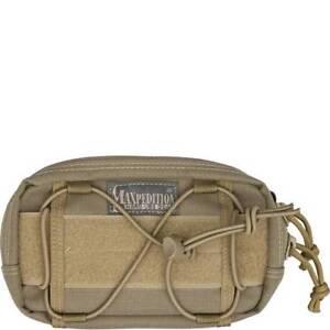 Maxpedition-Janus-Extension-Pocket-Pouch-Backpack-Bag-Attachment-Khaki-8001K