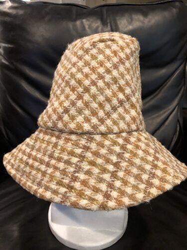 Noel Stewart Millinery London Plaid Hat