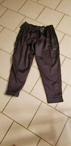 Nike-Dri-FIT-WORKOUT-Sweatpants-New-GRAY-SWOOSH-Mens-AQ-2715-LARGE-55