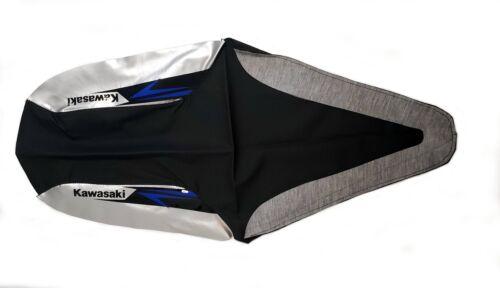 Kawasaki Seat Cover KFX700 V-Force 700 2005-2006 Silver Black OEM KFX700-019 CO