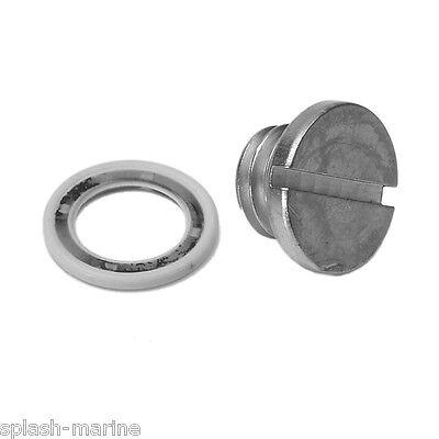 Genuine Mercury Mariner drain screw seal washer Quicksilver 12-19183Q02