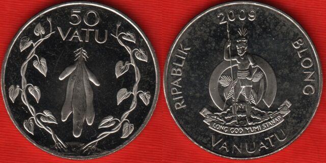 Vanuatu 50 vatu 2009 km#8 aUNC