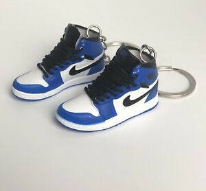 Details about New Mini Pair 3D Air Jordan Nike shoes keychain