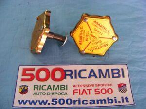 FIAT-500-F-L-R-TAPPO-OLIO-SHELL-COPERCHIO-PUNTERIE-ALLUMINIO-ASPIRAZIONE-MOTORE