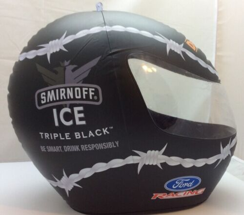 Smirnoff Ice Triple Black Dewalt Nascar Racing Bard Wire Ford Inflatable Helmet