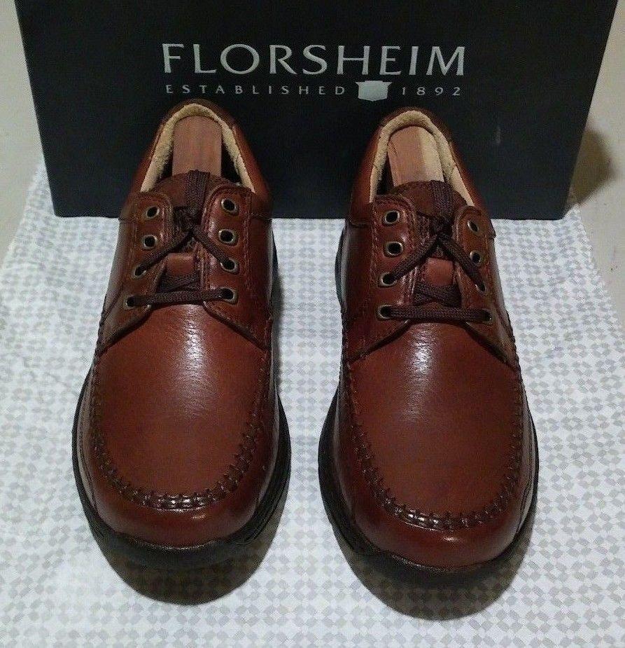 New Florsheim Comfortech Decatur 6 M cognac (612)