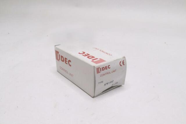 IDEC Amber Heavy Duty Pilot Light Lot of 3 APW-199 120-600VAC