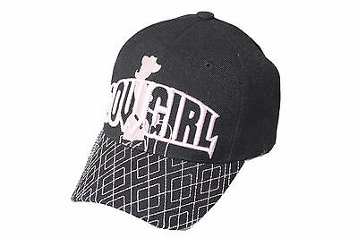 Cowgirl Biker Cap Baseball-cap Kappe Verstellbar Durchsichtig In Sicht