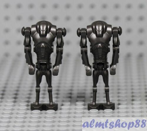 2x Super Battle Droid Pearl Gray LEGO Star Wars 75016 75042 8091 75021 7654