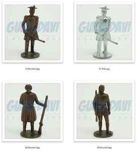 SOLDATINI KINDER METALLFIGUREN FERRERO Soldaten Soldati 1830 Singoli