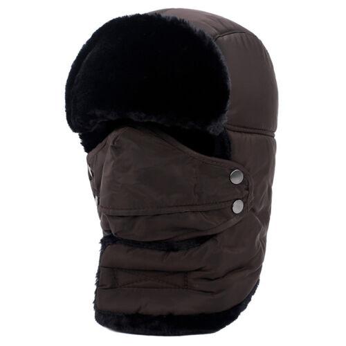 Damen Herren Balaclava Wintermütze Mützen Fleece Outdoor Sturmhaube Hut Earflap