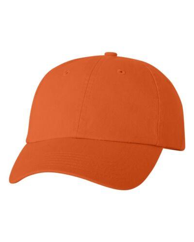 Valucap Adult Bio-Washed Unstructured Cotton Cap VC300A Dad/'s Cap Baseball Hat