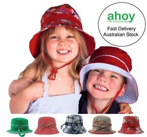 Baby-Girls-Boys-Toddler-Kids-Summer-Beach-Sun-Hat-Wide-Brim-Adjustable