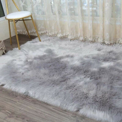 Faux Fur Area Rugs Gy Large