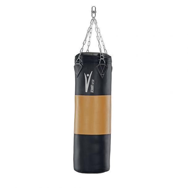 Sacco boxe 50 kg pugilato fascia cuoio tessuto 105x34 SCHIAVI SPORT allenamento pugilato kg 57d159