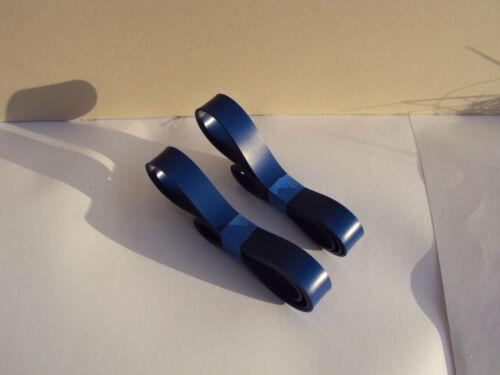 2 Bleu MAX uréthane bande scie Pneu Set remplace DELTA Numéro de pièce 419960940001