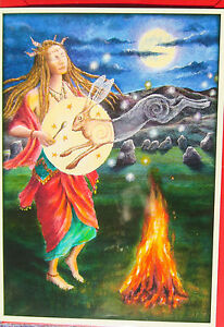 Wendy-Andrew-Pagan-Greetings-Card-Calling-Hare-celebrate-birthday-solstice-litha