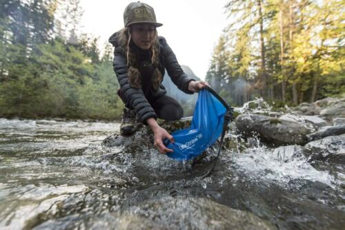 Removes Lead... LifeStraw Flex Advanced Water Filter with Gravity Bag
