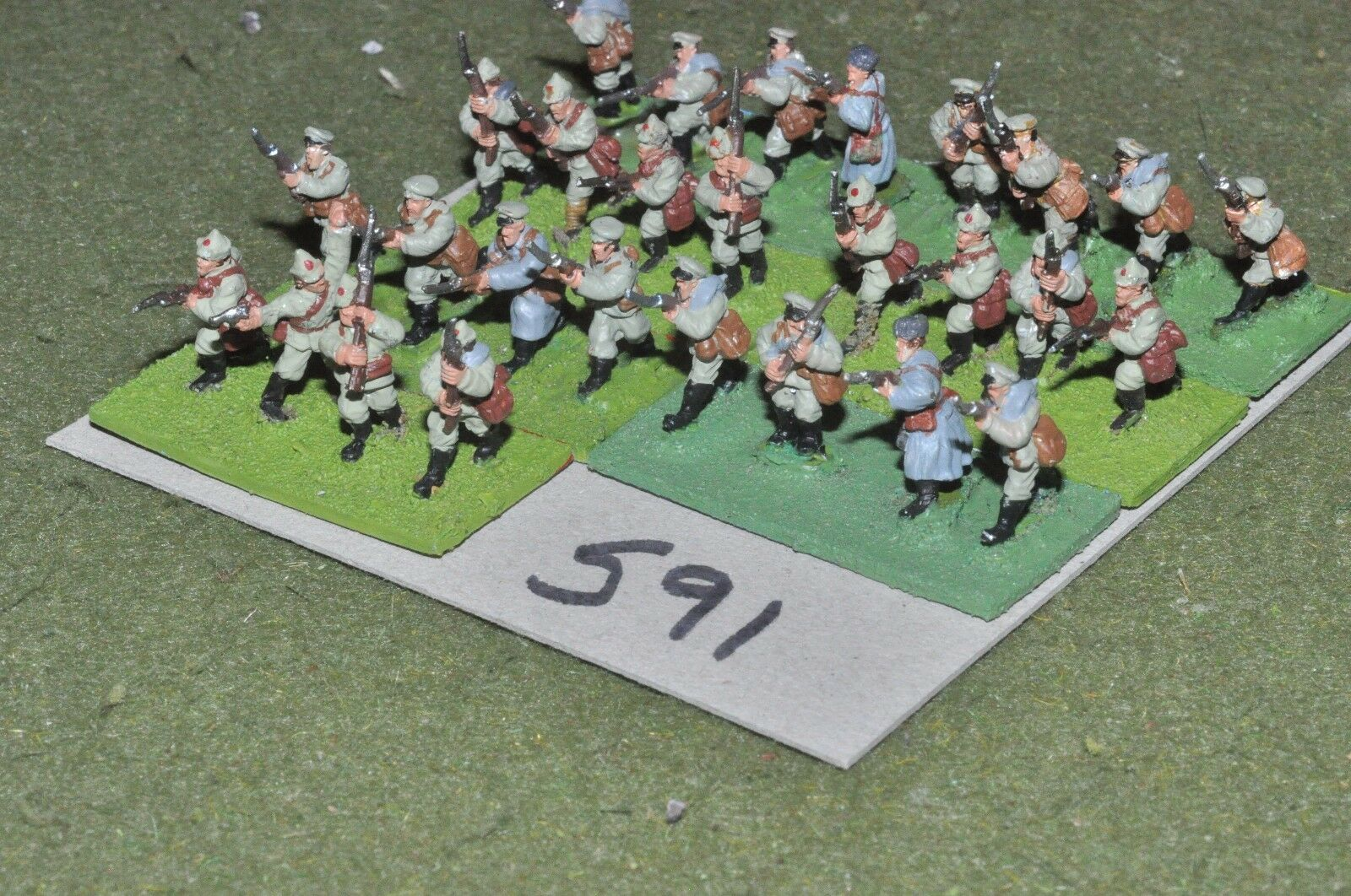15mm WW1   russian - civil war Infantry Platoon 28 Infantry - inf (WWI591)