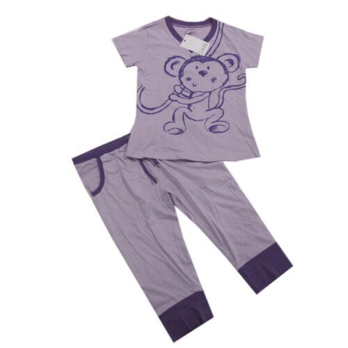 Star Kids Nachtwäsche Schlafanzug kurz Pyjama Mädchen Sommer Gr.140,152,164,176