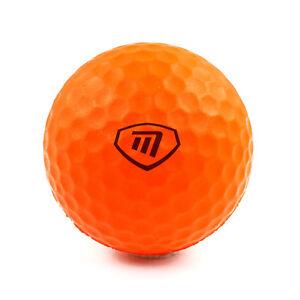 Masters-Lite-Flite-6-orange-Schaumbaelle-Golf-Ubungsbaelle-fuer-gefahrloses-ueben