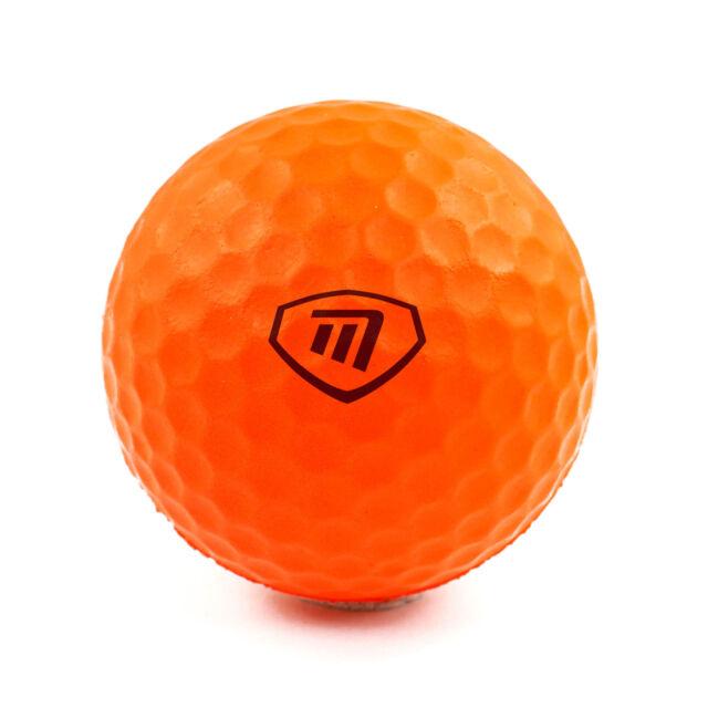 Lite Flite | 6 orange Schaumbälle | Golf Übungsbälle für gefahrloses üben