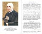 HOLY CARD SANTINO IMAGE PIEUSE - DON CARLO AMIRANTE, dei servi di Maria