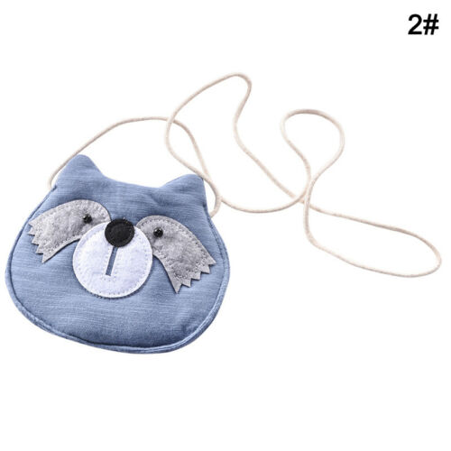 Mignon Chat Filles Enfants Sac à main sac à main enfants Cross-body shoulder bag coin holder