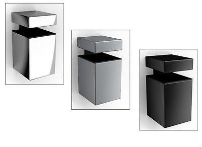 Cliphalterung Clip Block Metall 3 Farb. / 1,2 oder 3 Paar / für Regalboden Board