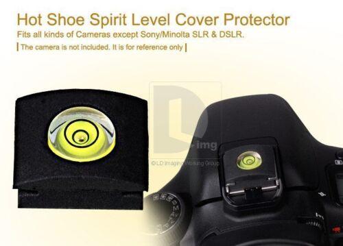 Zapata Nivel de Burbuja espíritu cubierta se adapta a Canon Nikon vendedor del Reino Unido