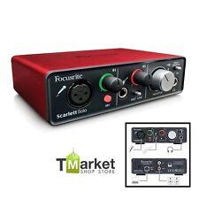Professional Focusrite Scarlett Mic Preamp Solo Compact Studio Microphone Sound
