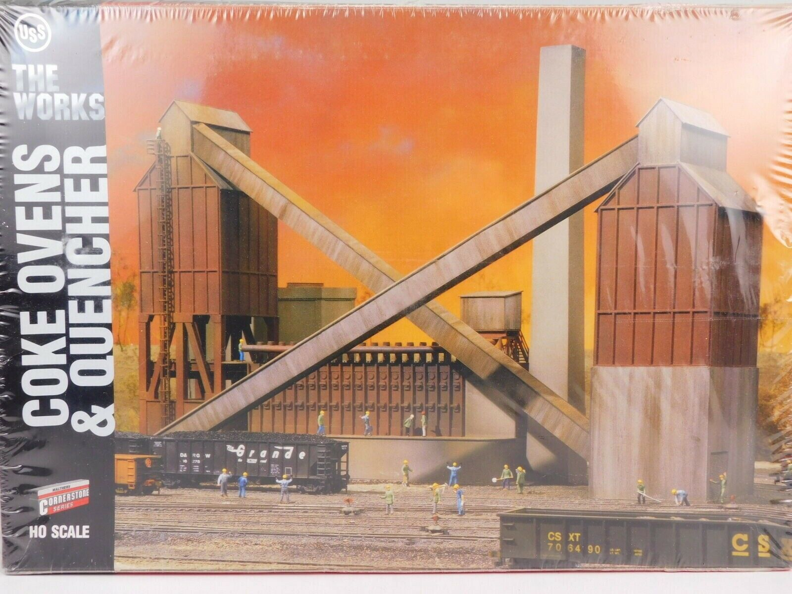 HO Scale Walthers 9333053 Code Ovens & Quencher costruzione Kit Steel Mill SEALED