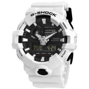 Casio-G-Shock-World-Time-Black-Dial-Men-039-s-Analog-Digital-Watch-GA-700-7ACR