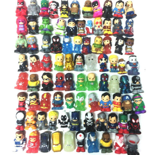 Ooshies Pencil Toppers Random 10X DC Comics//Marvel//Disney//TMNT Figure Cute Toy