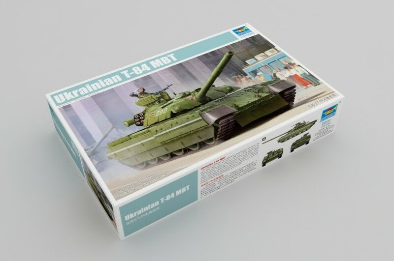 Trumpeter 09511 1 35 Ukrainian T-84 Main Battle Tank