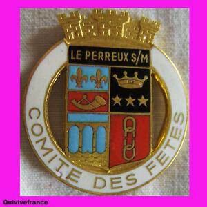 Bg2938 Insigne Comite Des Fetes De Le Perreux Sur Mer Acymiica-08001159-563899739