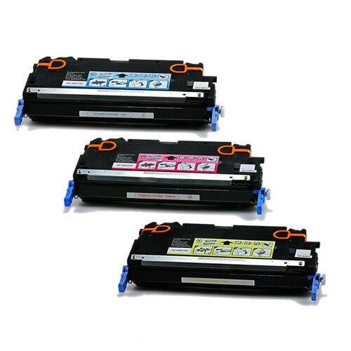 3PK Colors Toner for HP Color Laser Jet 3800 3800N 3800DN 3800T