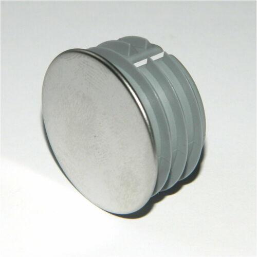 Lamelles bouchon environ avec chromé surface extrémités rohrstopfen rohrkappen