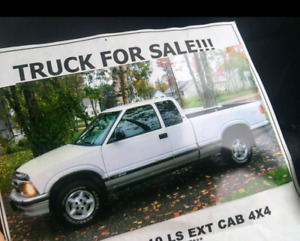 96' Chevy S-10 extended cab 4x4