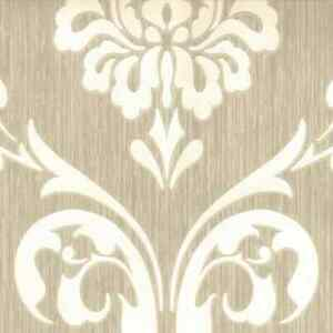 DUTCH-WALLCOVERINGS-Wallpaper-Ornament-Brown-and-White-Wall-Covering-13110-30