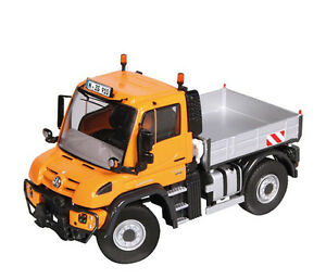 Nzg 1/50 Mercedes-Benz Unimog U 430 4x4 Orange Style Dde 910/65