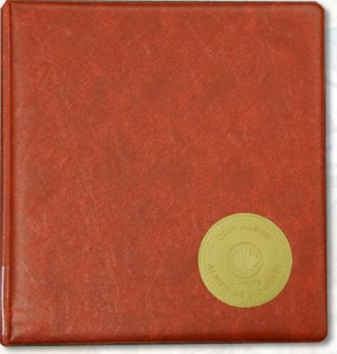 Unisafe /'Universal/' Coin Album Complete with Red Padded Binder $24.99