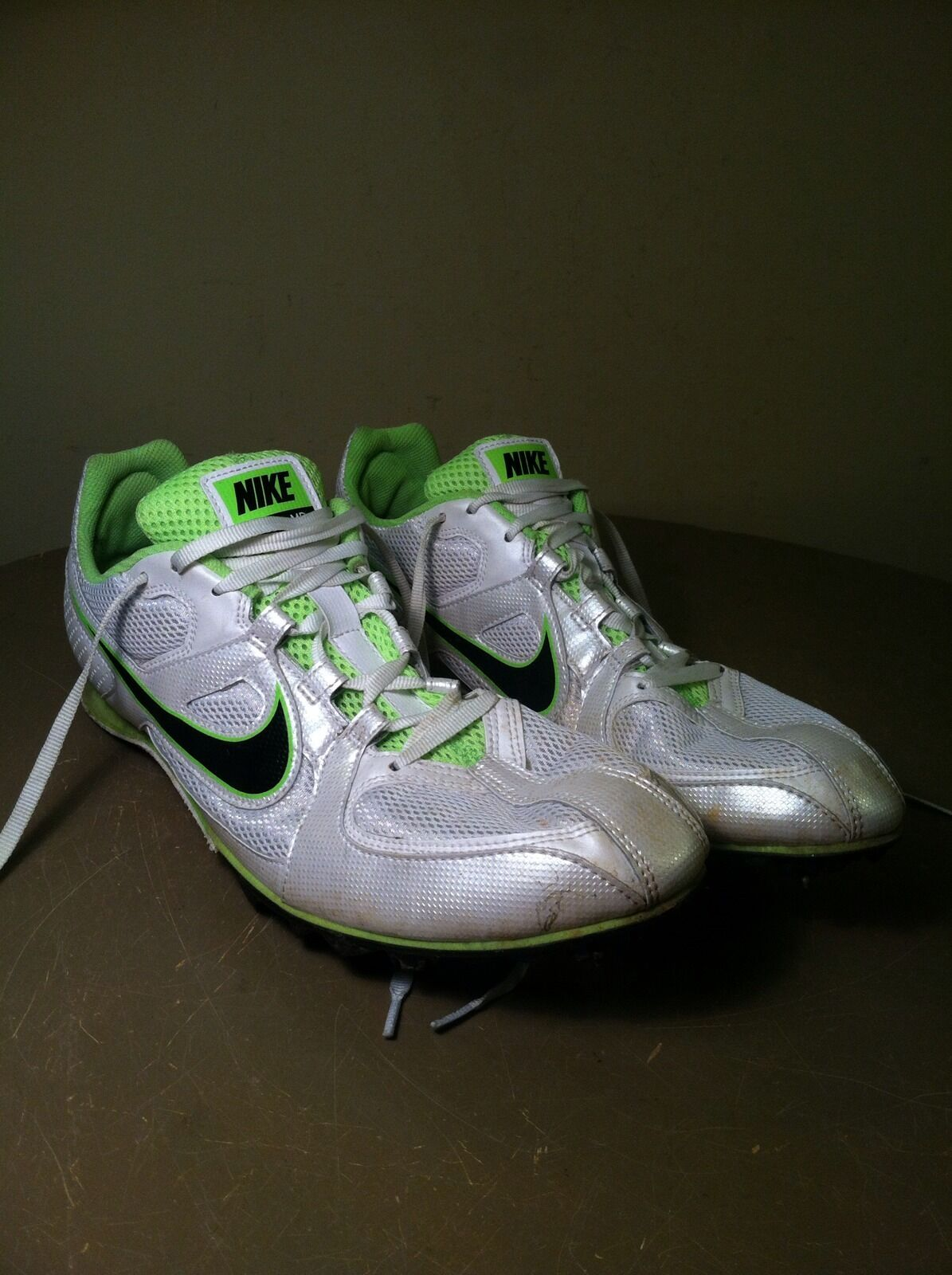 the latest 6b287 f7ed2 ... Nike Mens Zoom Rival MD 6 Track Spike Running Shoes Shoes Shoes 468648- 103 sz ...