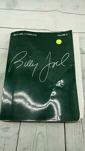 Billy-Joel-Complete-Volumes-2-partitions-pour-Piano-Vocal-Guitare-repertoire