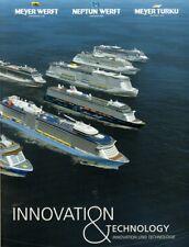 AIDA Celebrity NCL P&O Disney TUI Cruise Ship Construction Builders Picture Book